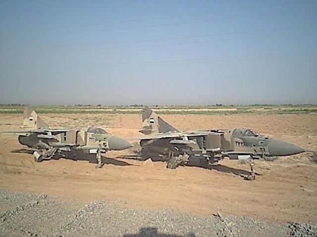 مضادات الدبابات السورية في حرب 1982 Mig-23iraq